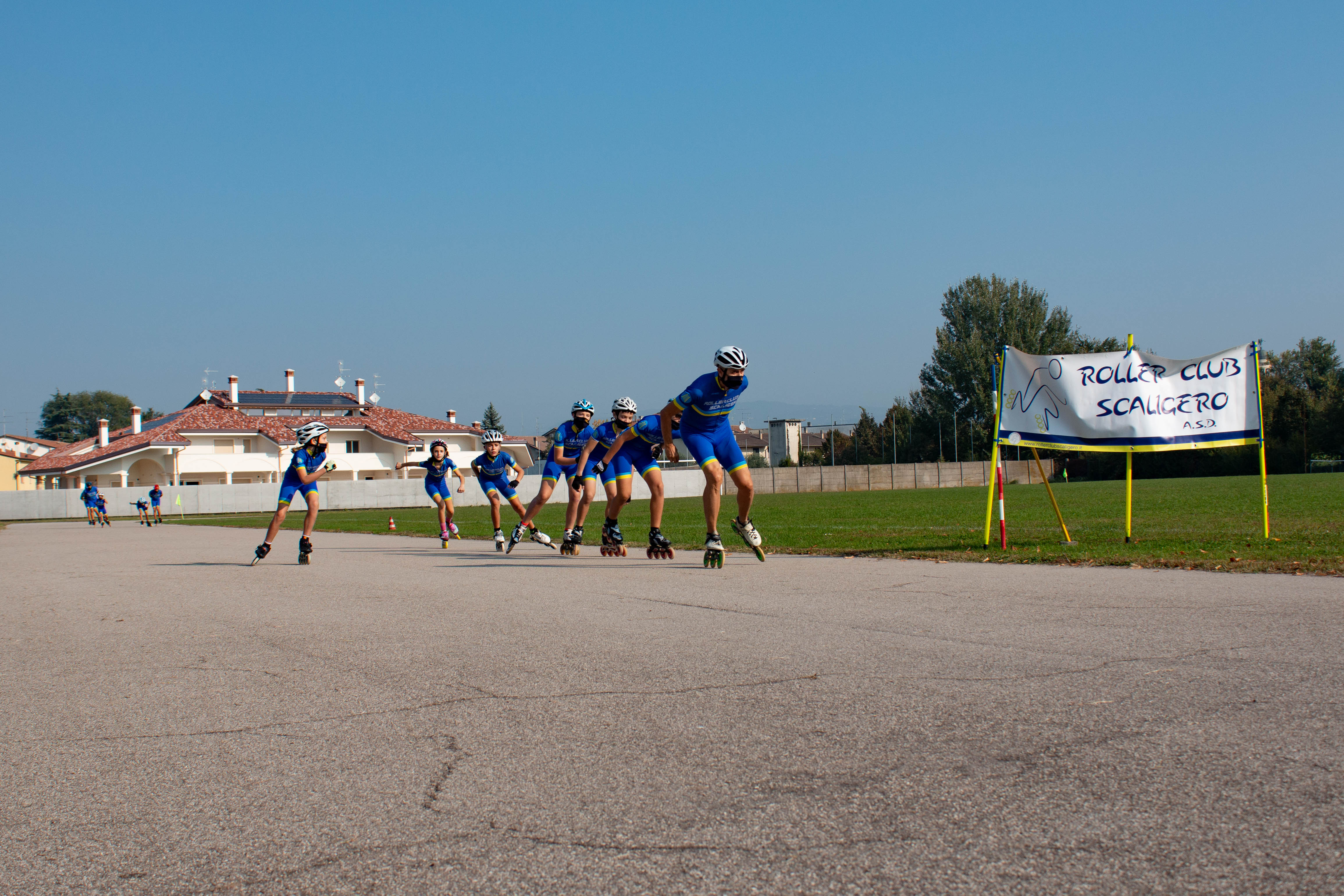 Atleti in azione